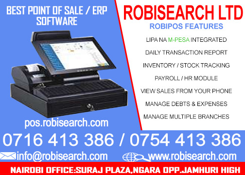 Kenya Point Of Sale System POS
